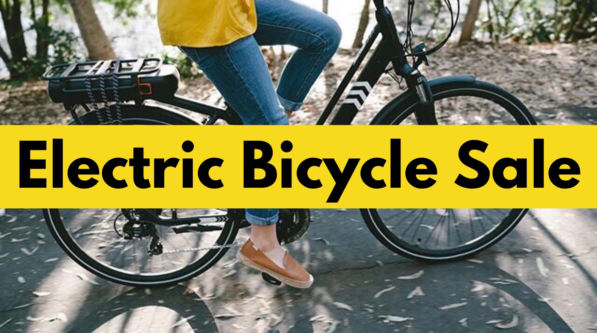 Electric Bicycle Sale