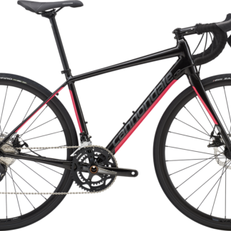 28e92e5ac0b 2019 Cannondale Synapse Disc Womens 105 Black/Pink – Bicycle One
