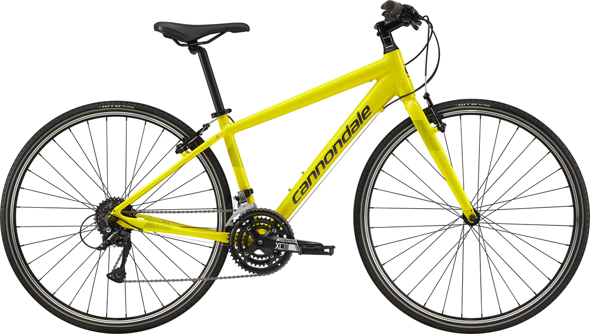 dbebc112bc6 2019 Cannondale Quick 6 Women's Hot Yellow – Bicycle One