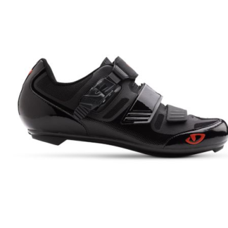 2017 Giro Apeckx II Matte Black/Red SPD SL Road shoe