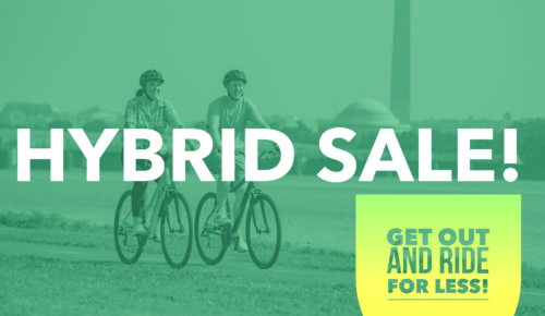 HYBRID SALE! GET OUT AND RIDE FOR LESS!