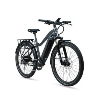 2020 Aventon Level Commuter E-Bike Earth Grey