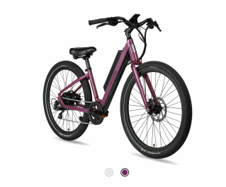 2019 Aventon Pace 350 Step Through Purple Electric Bike