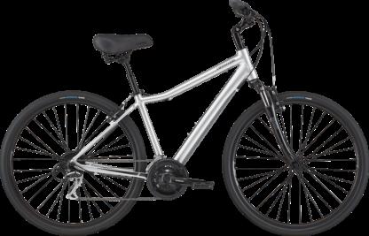 2020 Cannondale Adventure 1 Silver Mens Comfort Hybrid