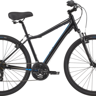2020 Cannondale Adventure 2 Black Pearl Men's Comfort Hybrid Bike