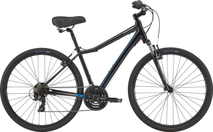 2020 Cannondale Adventure 2 Black Pearl Men's Comfort Hybrid Bike