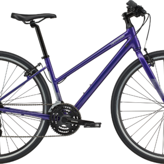 2020 Cannondale Quick 6 Remixte Purple