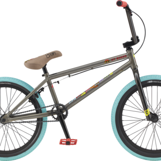 "2020 GT Performer 20"" Raw Silver Boxpalm Edition BMX Bikes"