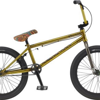 "2020 GT Performer 20"" Yellow BMX Bike"
