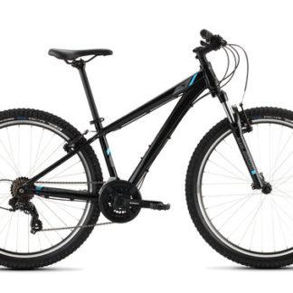 2020 Raleigh Talus 1 Black/Blue Hardtail Mountain Bike