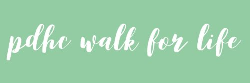 PDHC WALK FOR LIFE 2019