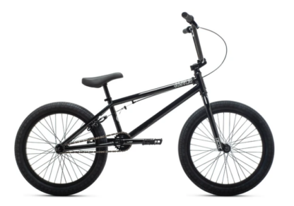 2021 DK AURA 20 BLACK BMX BIKE