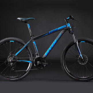 2021 Seven Peaks Kozak Black/Blue Hardtail Mountain Bike
